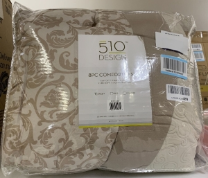 8 piece Queen size comforter set