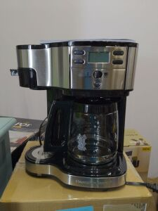 Hamilton Beach 2 way coffee brewer