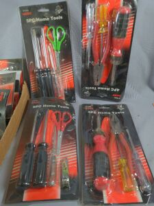 Lot of 18 Hawk tools home tool kit