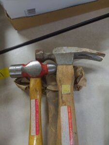 lot of 3 hammers