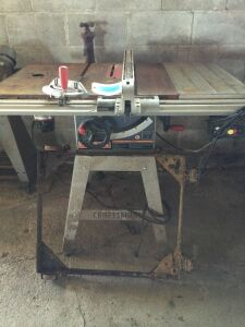 "Craftsman 10"" Table Saw with Router"