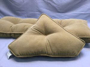 Long Seat Cushion and Triangle Pillow