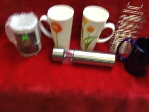 Coffee Mugs, Kitchen Items and More