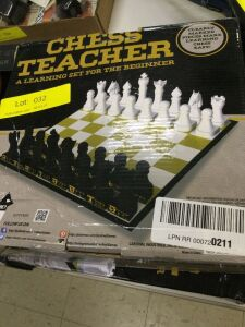 Pair of Chess Teacher Learning Chess Boards